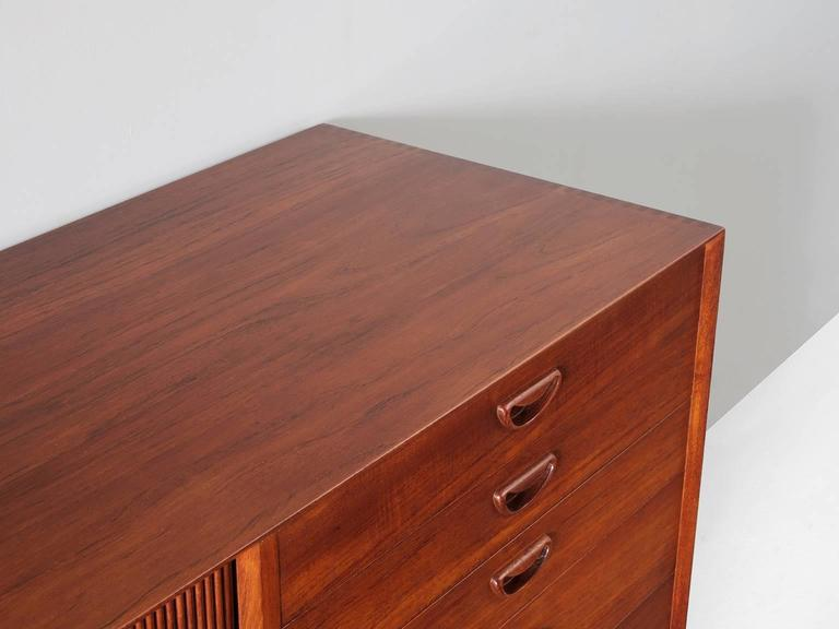 Mid-20th Century Peter Hvidt & Orla Mølgaard Nielsen Sideboard in Teak For Sale