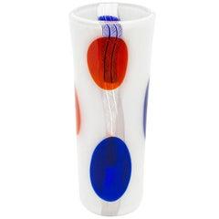 Rare Anzolo Fuga 'Spots' Vase, Murano, 1950s