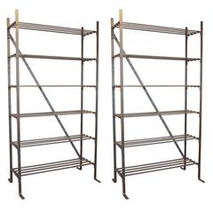 French Industrial Textile Etagere
