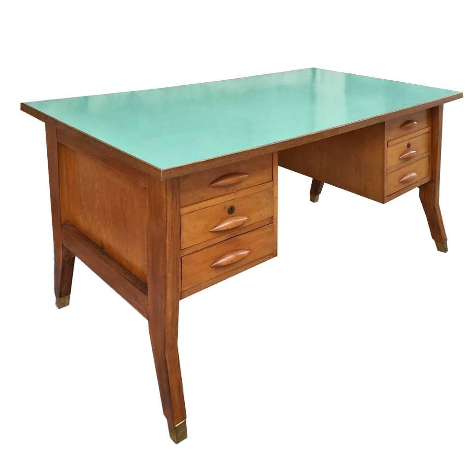 beautiful desk design gio ponti in 1950 at 1stdibs