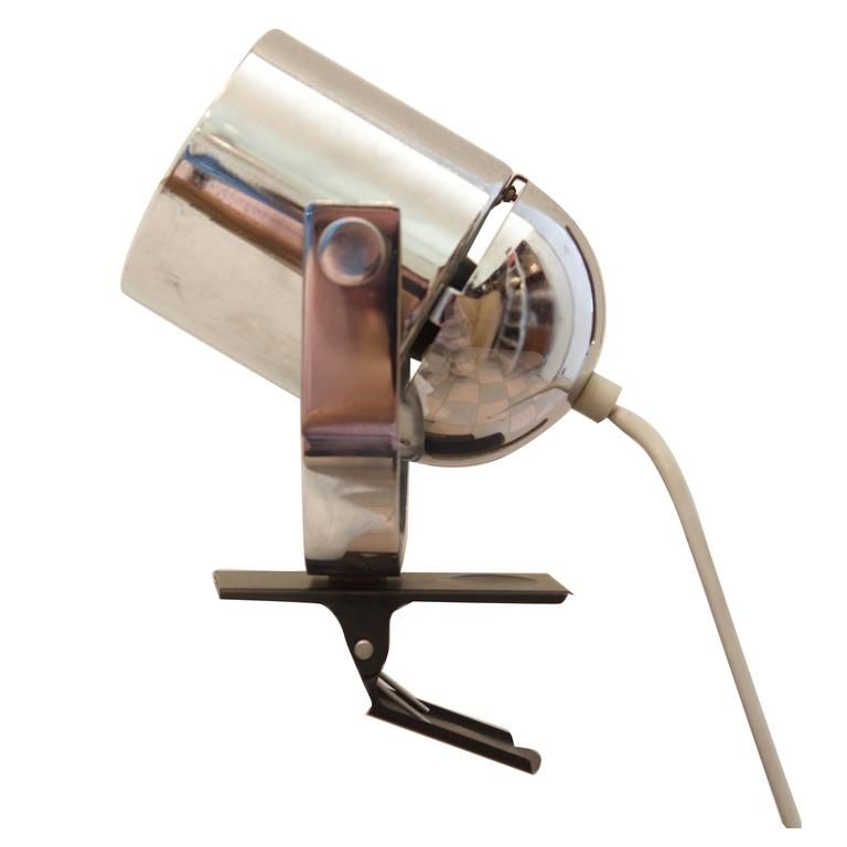 vintage clip on desk lamp for sale at 1stdibs. Black Bedroom Furniture Sets. Home Design Ideas