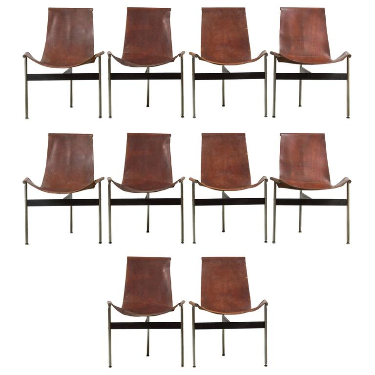 T-Chairs by William Katavolos Littell and Kelly for Laverne Originals