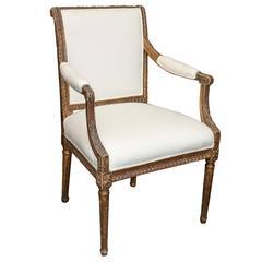 Antique 18th Century Italian Armchair