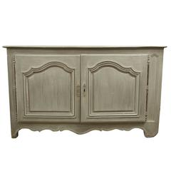 Antique 18th Century Louis XV Painted Buffet