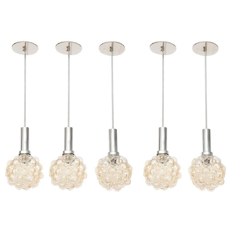 Helena Tynell Bubble Glass Pendants