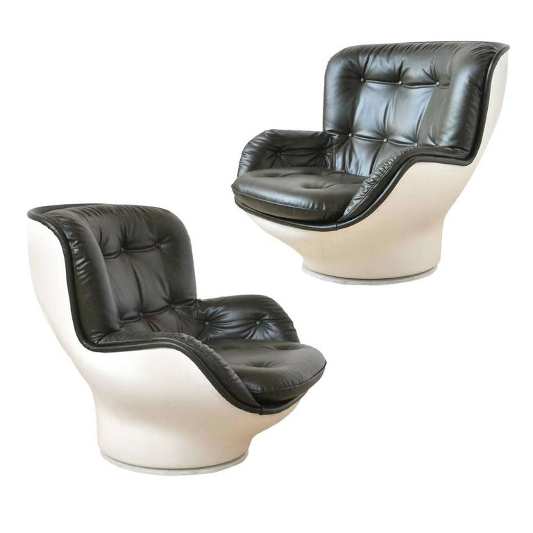 Pair of Lounge Chairs by Airborne