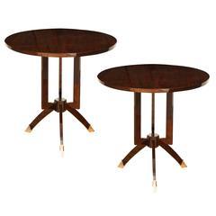 Art Deco Side Table/Gueridon
