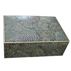 Karl Springer Shagreen Box