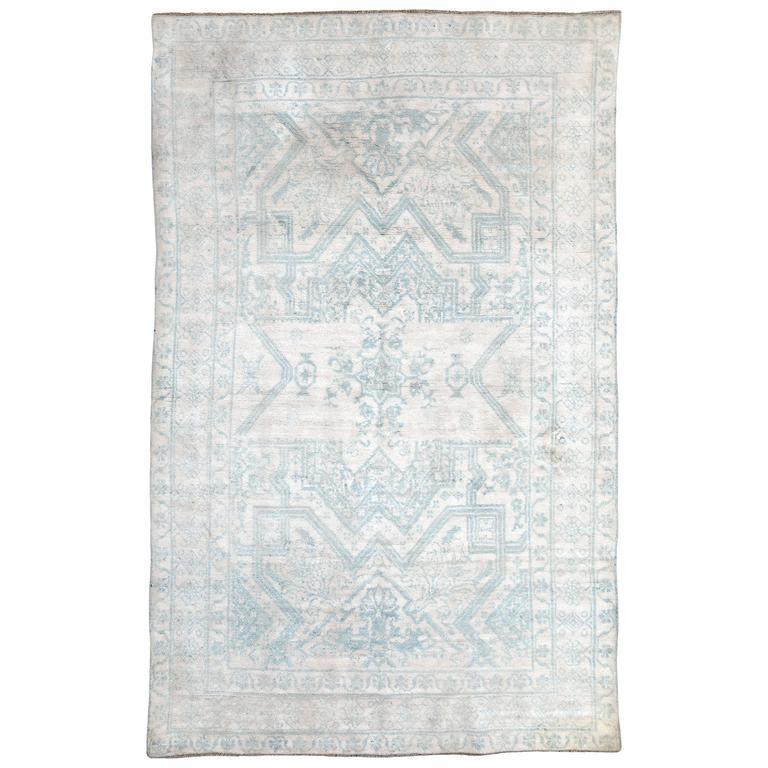Vintage Indian Cotton Agra Rug For Sale At 1stdibs