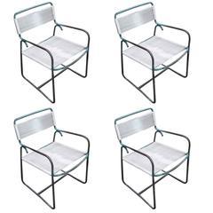 Set of 4 Walter Lamb for Brown Jordan Outdoor/Patio Armchair