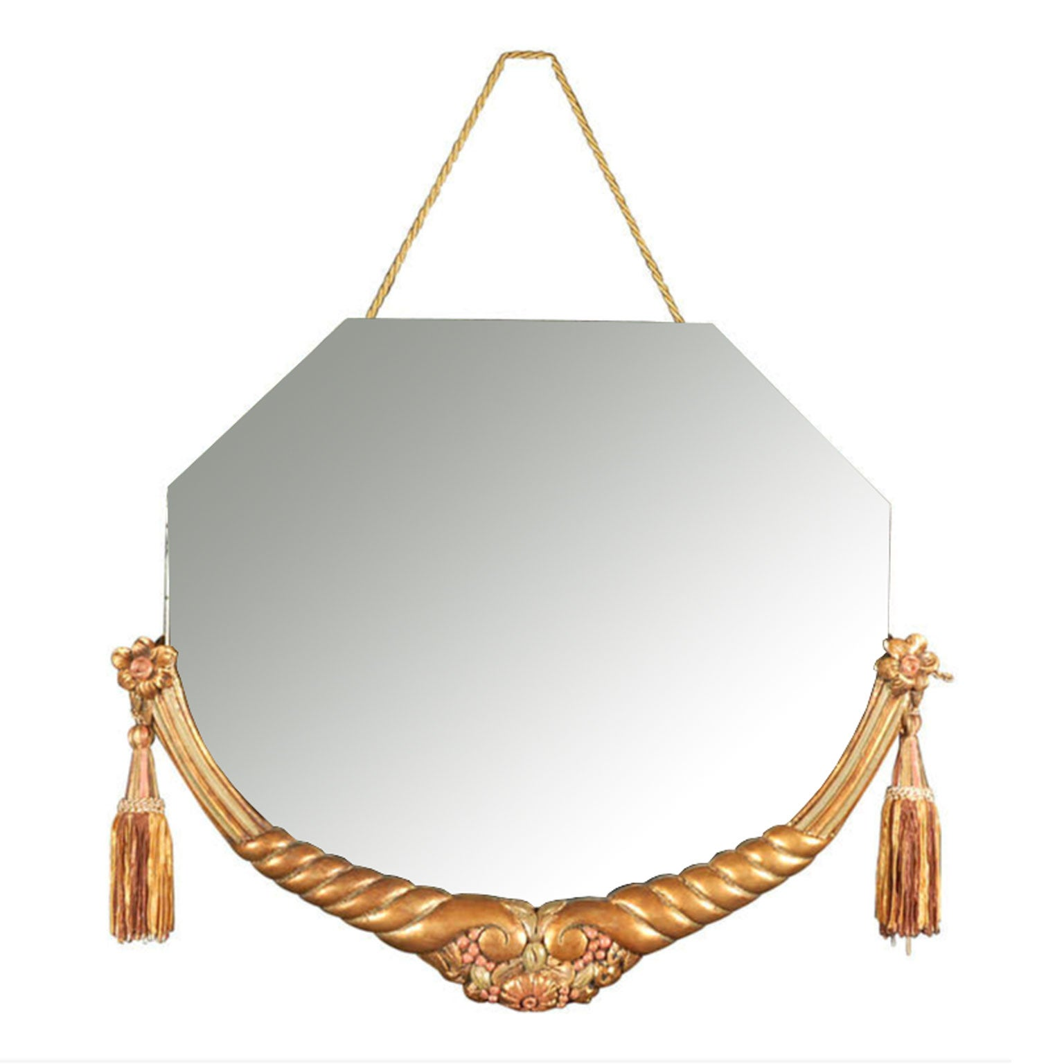 Original Art Deco Mirror Attributed to Maurice Jallot