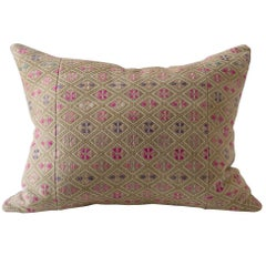 Vintage Dowry, Ethnic Chinese Minority Textile Cushions