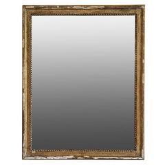 Petite 19th Century Giltwood Mirror