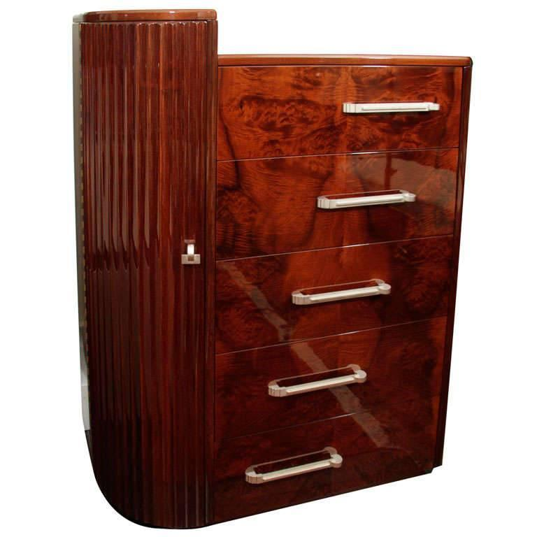 High Chest of Drawers For Sale