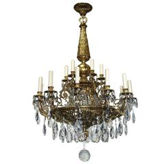Antique Chandelier Louis XVI Chandelier