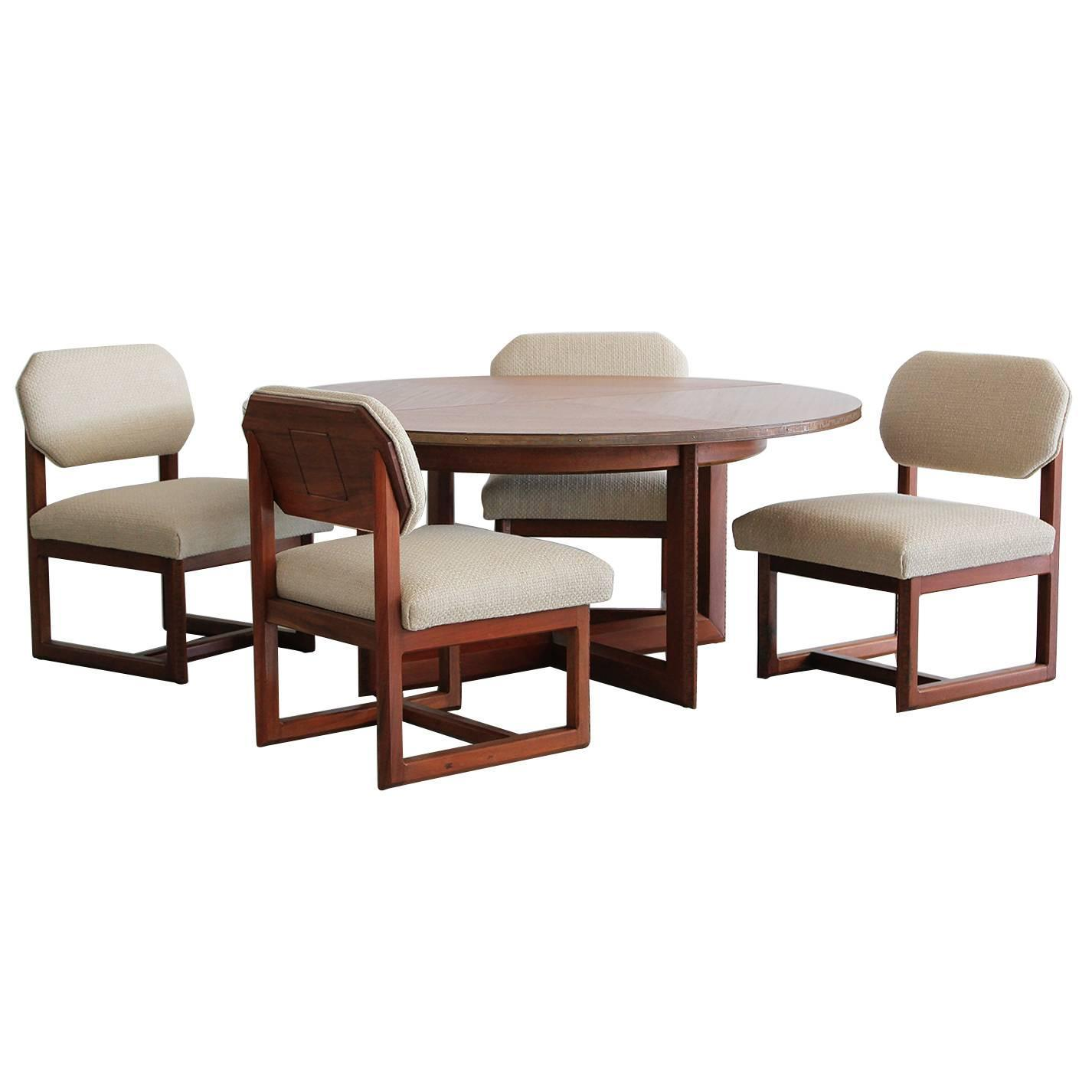 Table And Chair For Sale: Frank Lloyd Wright Game Table And Chairs For Sale At 1stdibs