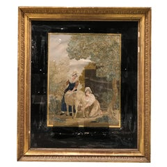 19th Century Framed Needlepoint