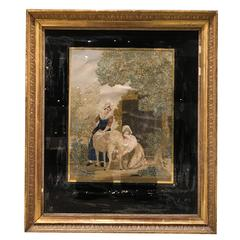 19th Century Framed Needlepoint