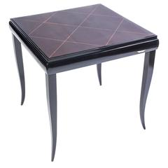 Wonderful Art Deco Game Table