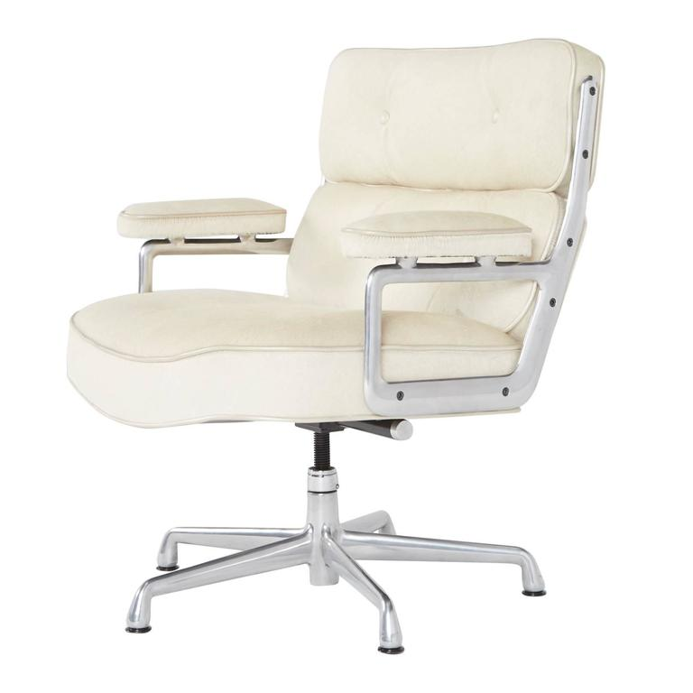Hair On Hide Time Life Lobby Chairs By Eames For Herman Miller (Only 1
