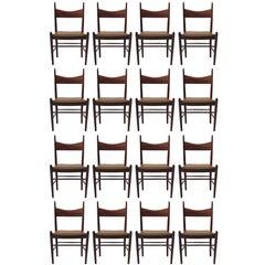 16 Vestervig Eriksen Rosewood Danish Dining Chairs