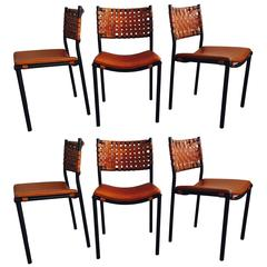 Set of Six Shaver Howard Dining Chairs