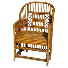 """Brighton"" Rattan Armchair"
