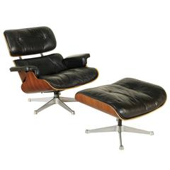 Swiveling Armchair by Charles & Ray Eames for ICF De Padova Vintage, Italy