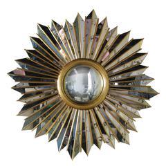 Convex Sun Mirror by Arturo Pani, circa 1940