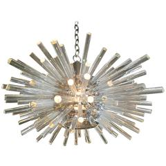Bakalowits and Sohne Nickel Plated Miracle Chandelier Circa 1960s