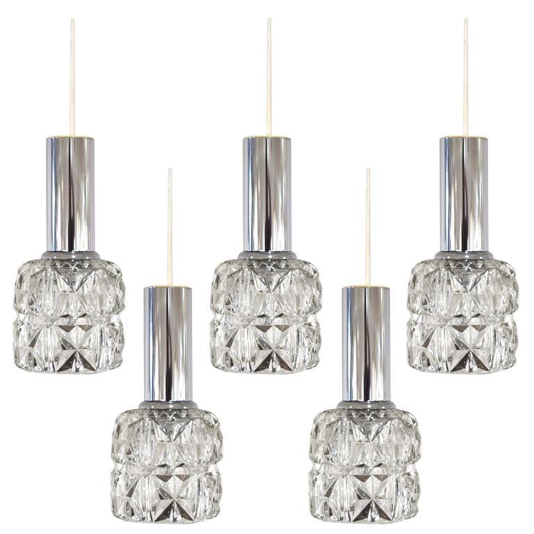 Set of Five Doria Pendants 1
