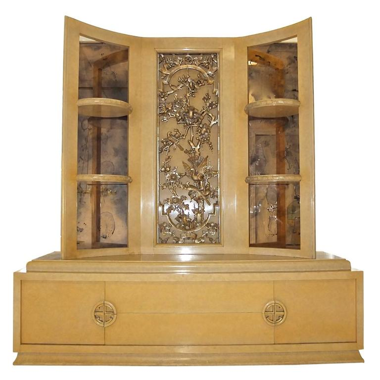 James Mont Console Cabinet