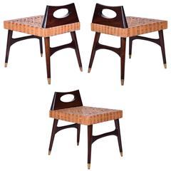 Eugenio Escudero Sculptural Side Chairs