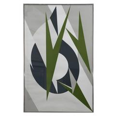 "Lee Krasner, Embrace, A.P. Print (Krasner inscribed as gift  to ""John Dewey"")"