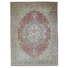 Antique Turkish Sivas Carpet, Finely Woven