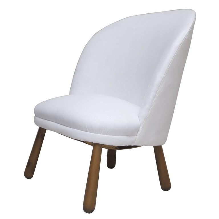 Clam Chair Attributed to Philip Arctander, Denmark, circa 1940
