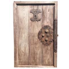 Japanese Finest Antique 150 Year Old Kura Door- immediately usable