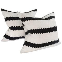 Pair of African Mudcloth Pillows