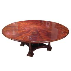 Mahogany Jupe Dining Table