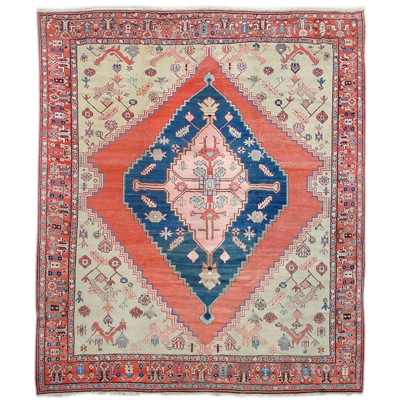 Persian Karaja Rug For Sale At 1stdibs