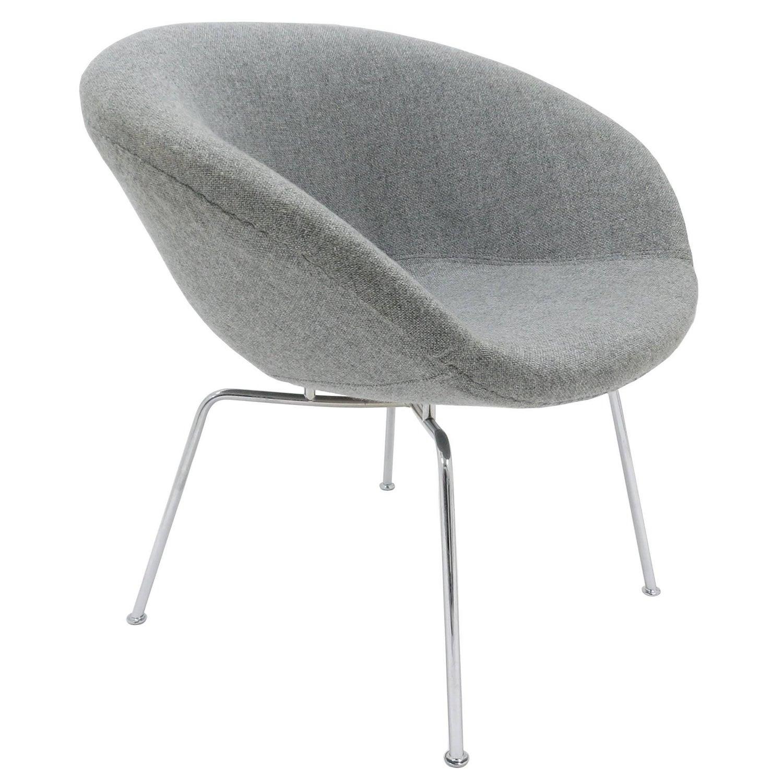 Arne Jacobsen Pot Chair for Fritz Hansen Danish 1950s For Sale