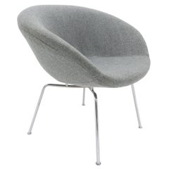 Arne Jacobsen Pot Chair for Fritz Hansen, Danish, 1950s