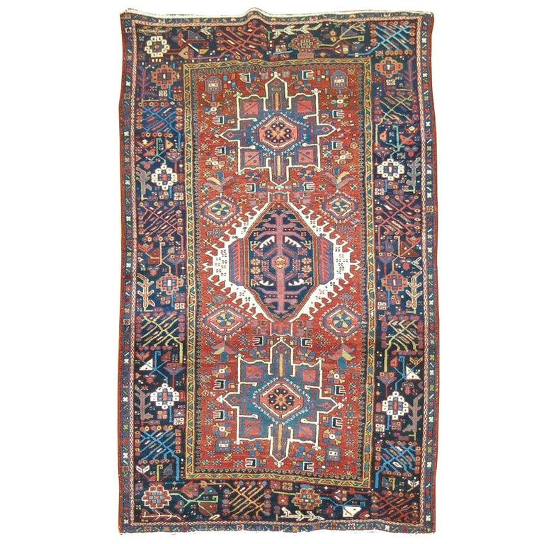 Persian Heriz Karadja Rug