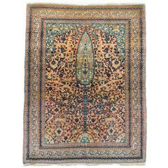 Hadji Jalili Tabriz Animal Pictorial Rug