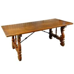 Spanish 19th Century Farm Table