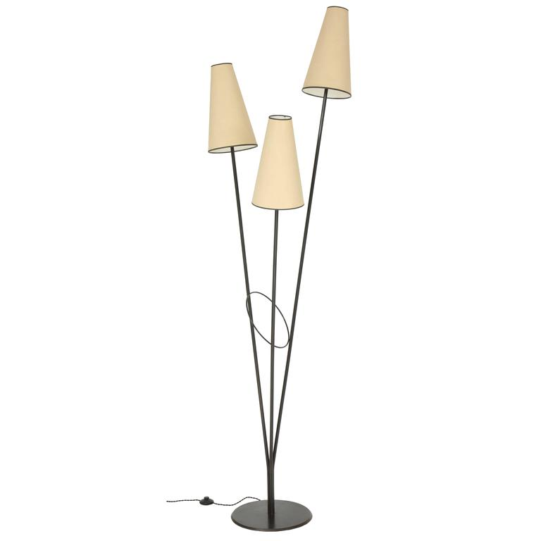 Fran Taubman Metal Floor Lamp, 1988 1