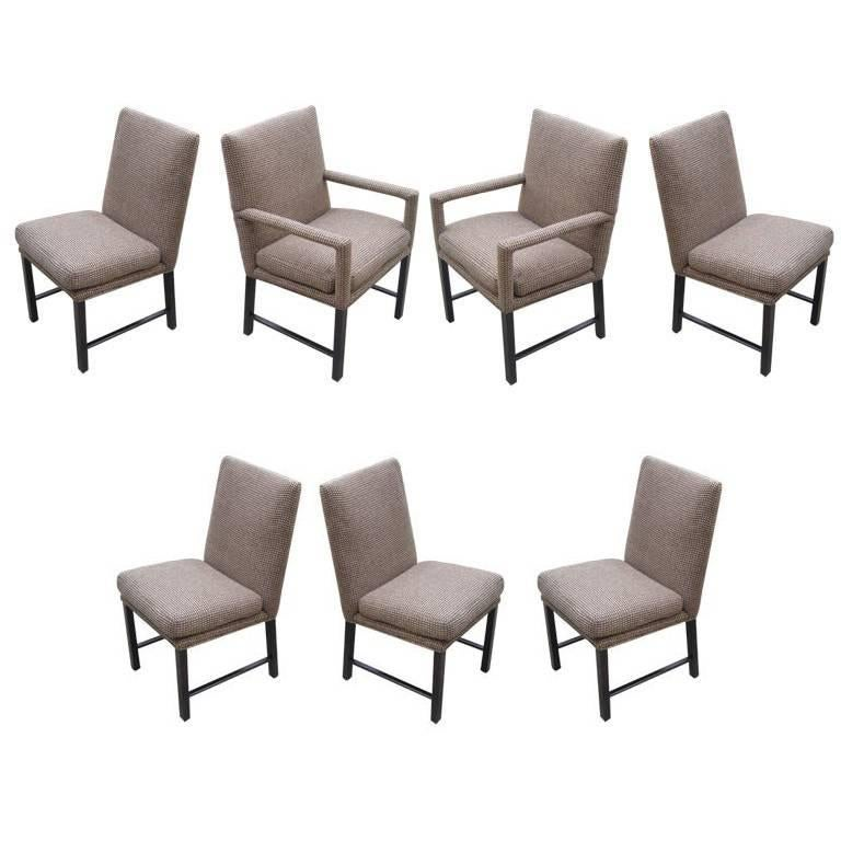 Set of 7 Moderne Dining Chairs