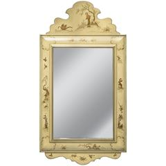 Italian Chinoiserie Wall Mirror