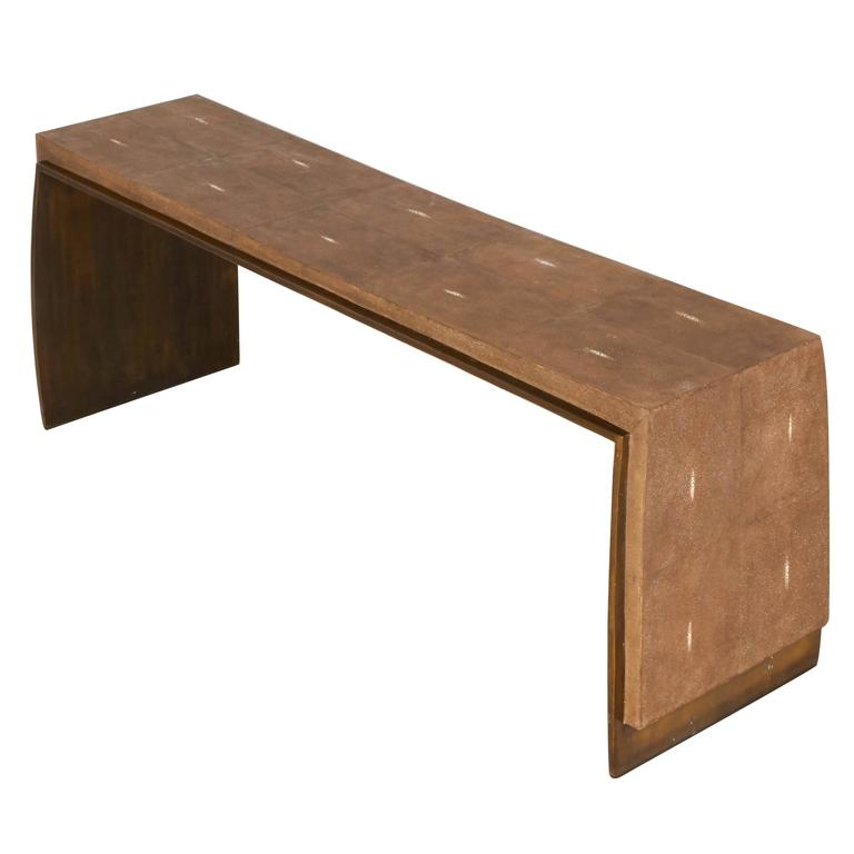 Coffee Table Or Bench By R And Y Augousti Paris At 1stdibs