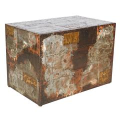 Patchwork Table or Pedestal by Paul Evans